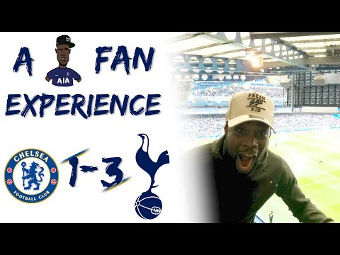 Chelsea (1) vs Tottenham (3) EXPRESSIONS FAN EXPERIENCE  28 YEARS ABSOLUTE SCENES