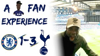 Chelsea (1) vs Tottenham (3) EXPRESSIONS FAN EXPERIENCE| 28 YEARS ABSOLUTE SCENES