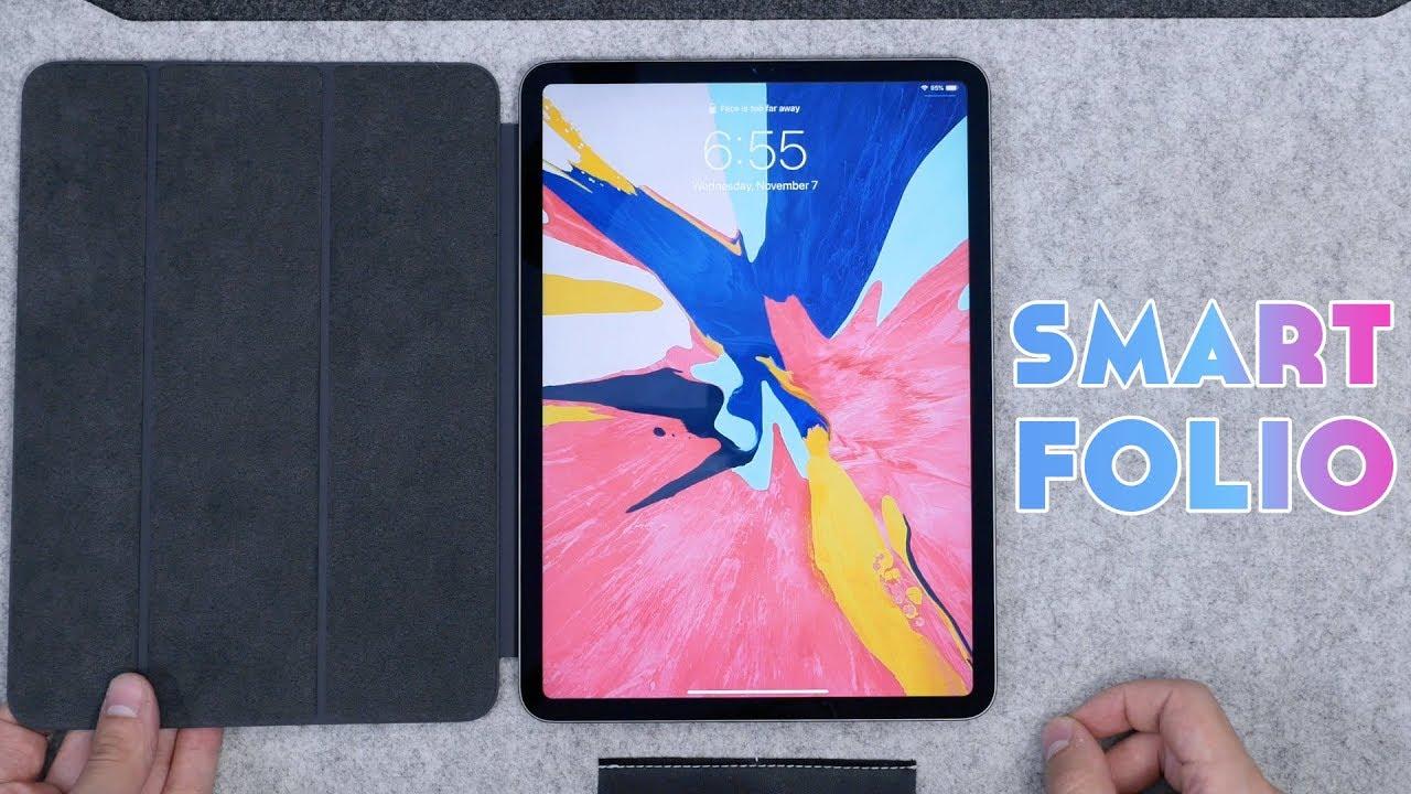 Ipad Pro 2018 Smart Folio Unboxing Review Worth It Youtube