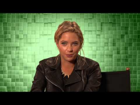 "Pixels: Ashley Benson ""Lady Lisa"" Behind the Scenes Movie Interview"
