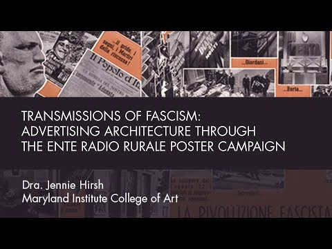 Transmissions of Fascism: Advertising Architecture through the Ente Radio Rurale Poster Campaign