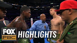 Watch the 3 KOs from the Spence Jr. vs Porter non-televised prelims | HIGHLIGHTS | PBC ON FOX
