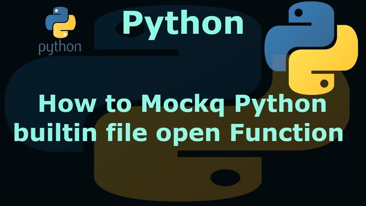 python mock tutorial