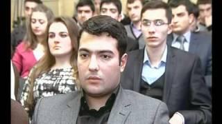 AZ TV : Xeberler: Qafqaz Universitetinin 7 tələbəsi ARDNŞ təqaüdünə layiq görülmüştür