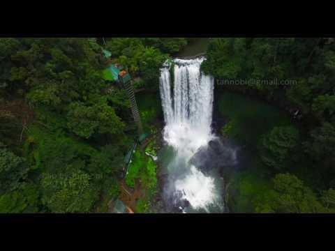 Thác Dambri hùng vĩ giữa bạt ngàn núi thẳm - Flycam 4K