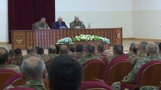 Համաբանակային հրամանատարական  հավաք Արցախում