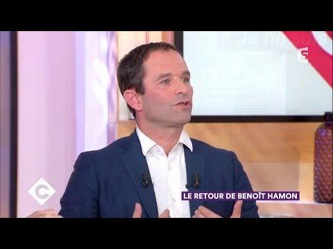 Le retour de Benoît Hamon - C à Vous - 25/10/2017