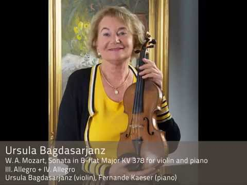 Ursula Bagdasarjanz plays Mozart