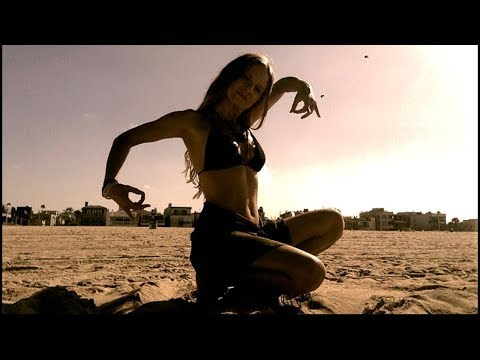 Oxana Gonchar Dances a Healing Dance on a Beach
