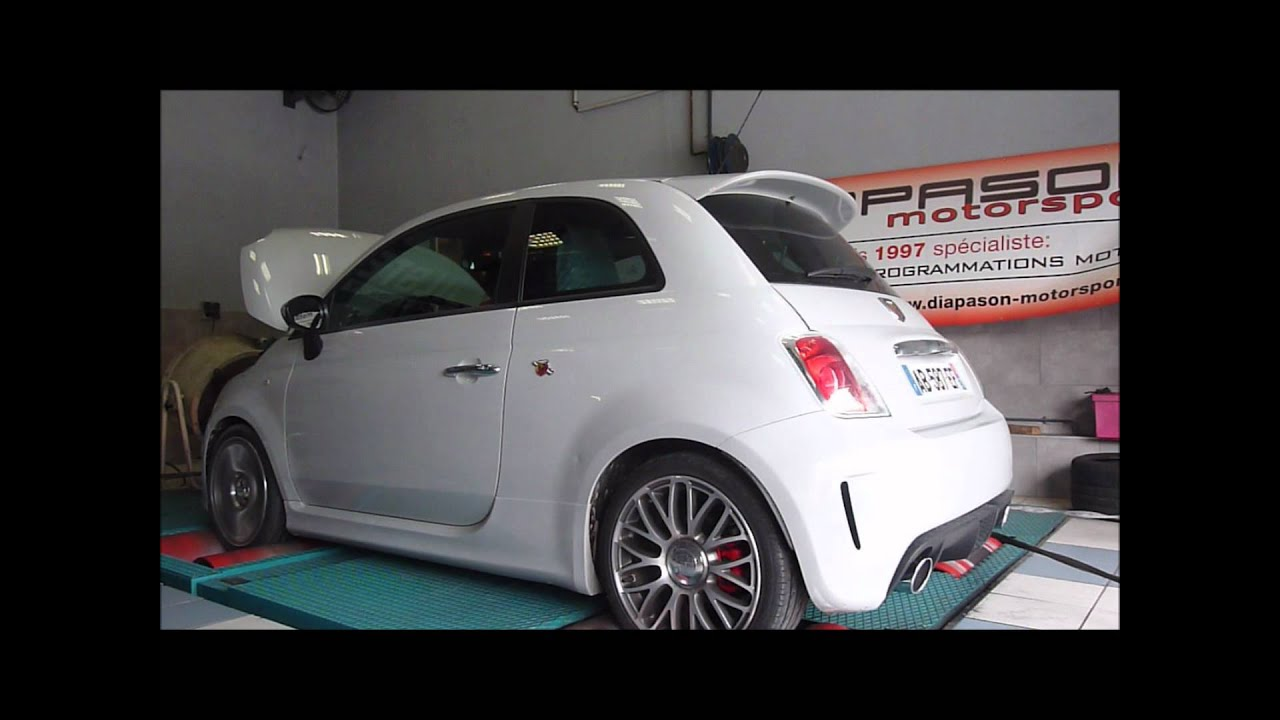 reprogrammation moteur fiat 500 abarth ligne supersprint exhaust youtube. Black Bedroom Furniture Sets. Home Design Ideas