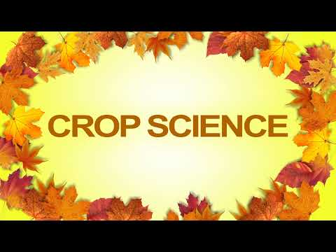 College of AES - Crop Science