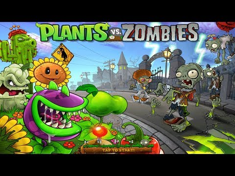 Plants Vs. Zombies [iPad] FULL Walkthrough - Gameplay