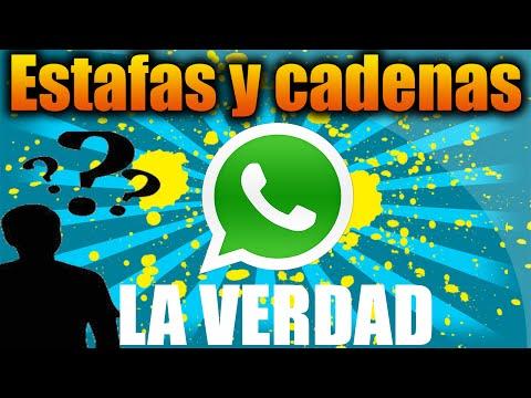 Las ESTAFAS y CADENAS de WhatsApp LA VERDAD