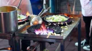 Street Food on Khao San Road, Bangkok Thailand