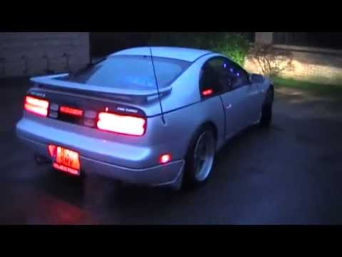 300zx Fully Led Switchback Clear Lens Tail Lights