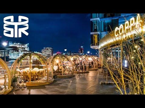 COPPA CLUB - Dine in Riverside Igloos! Tower Bridge London | Vlog 23