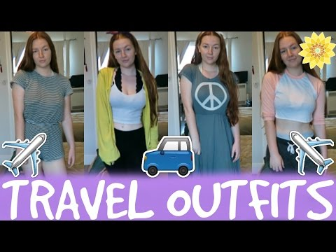 TRAVEL OUTFITS | MEGHAN HUGHES