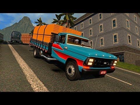 Camión Ford F4000   COLOMBIA   Ruta por Carretera de Montaña