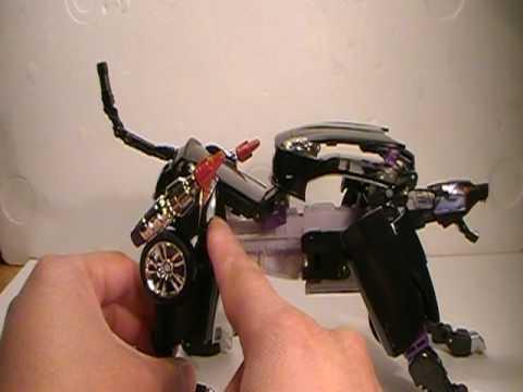 Download Transformers Alternators Ravage (Jaguar XK) toy review