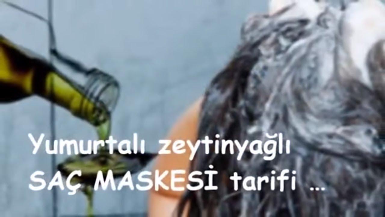 Zeytinyağıyla Saç Bakım Maskesi Yapılışı