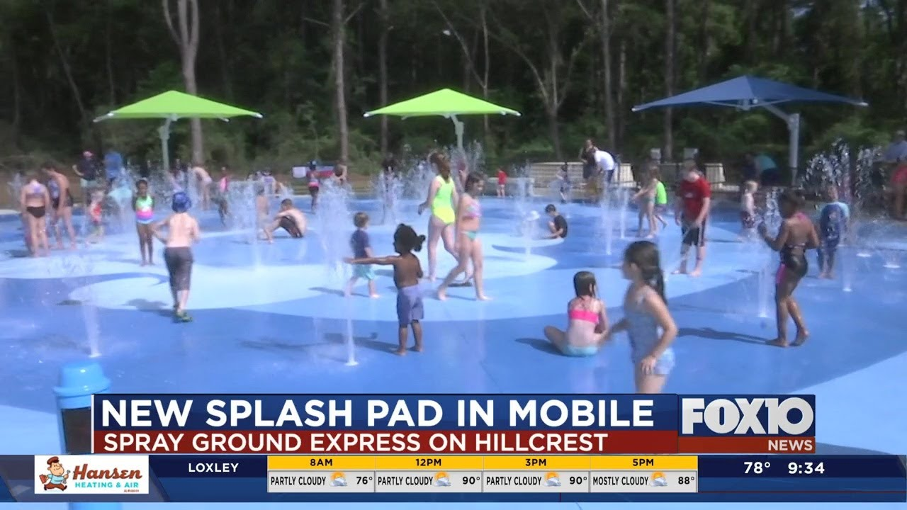 Download New splash pad in Mobile officially opens