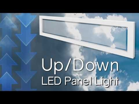 LED Panel Light Fixture Up And Down Panel Light
