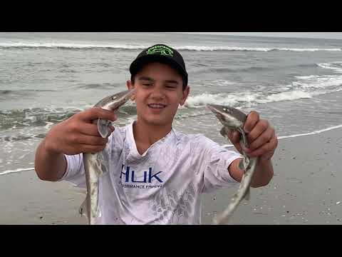 Surf Fishing At Ocean City New Jersey