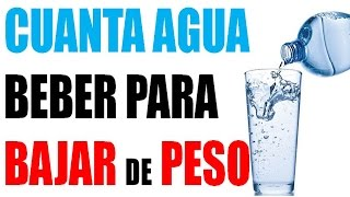 Cuanta Agua Beber Para Bajar De Peso Agua Para Bajar De Peso Youtube
