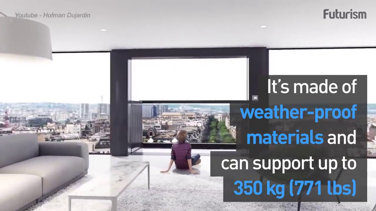 This transformable window could be the future of interior design