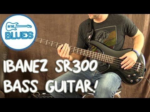 Ibanez SR300 B Guitar Demo - YouTube on
