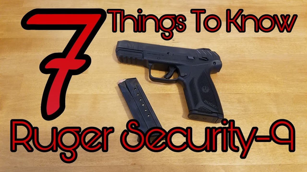 Ruger Security 9 Review by Alien Gear Holsters - Alien Gear