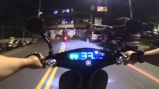 Tayvan Malı Elektrikli Sessiz Motosiklet 110 KM Menzile Sahip
