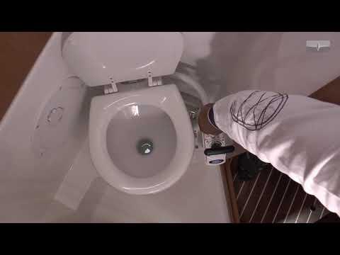 Operating Toilet - Bavaria Yachts Sailing Yachts