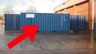 Für 335 Dollar kauften sie einen Container und fanden darin einen Schatz