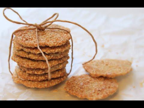 Вопрос: Как приготовить безглютеновое печенье с кунжутом?