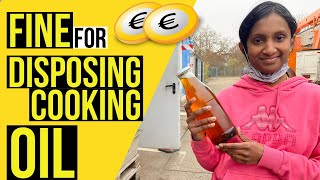 HOW TO DISPOSE COOĶING OIL in GERMANY 🇩🇪 Avoid paying Fine -WASTE SEPARATION IN GERMANY🇩🇪
