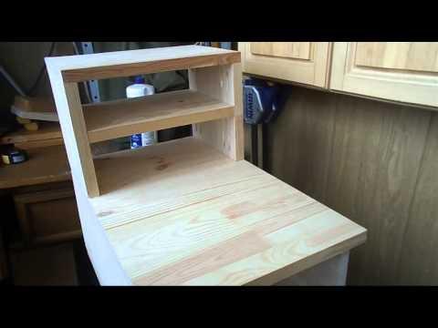 видео: Еще один шкафчик в мастерскую