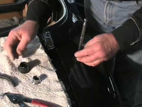 How To Replace The Mazda Miata Antenna Mast Part 1