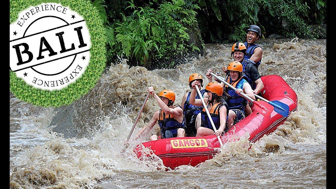 Bali Rafting Ubud Ayung River Youtube