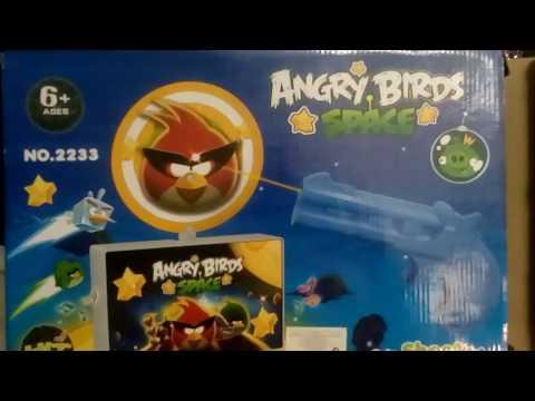 Открываем игру Angry Birds стрелять по  птичкам