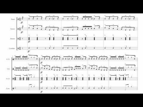 This is Sparta - A Cadence For Drumline
