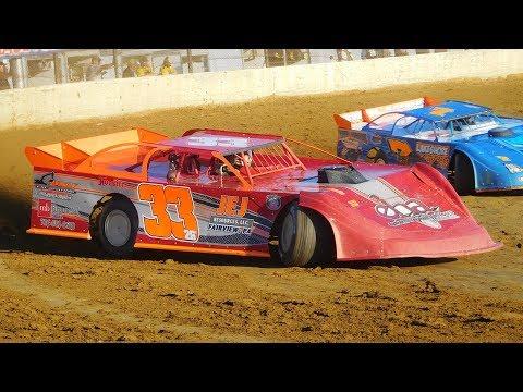 Chris Hackett #33 | In-Car Camera | Eriez Speedway | 7-16-17