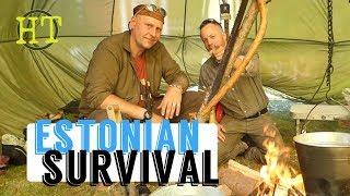 Estonian Survival Group at Bushcraft Festival