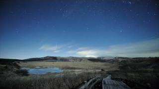 Geminids Meteor Shower 2010 -双子座流星群- timelapse