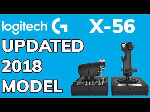 Logitech X56 Unboxing 2018 | NEW UPDATED GREY BLACK HOTAS |