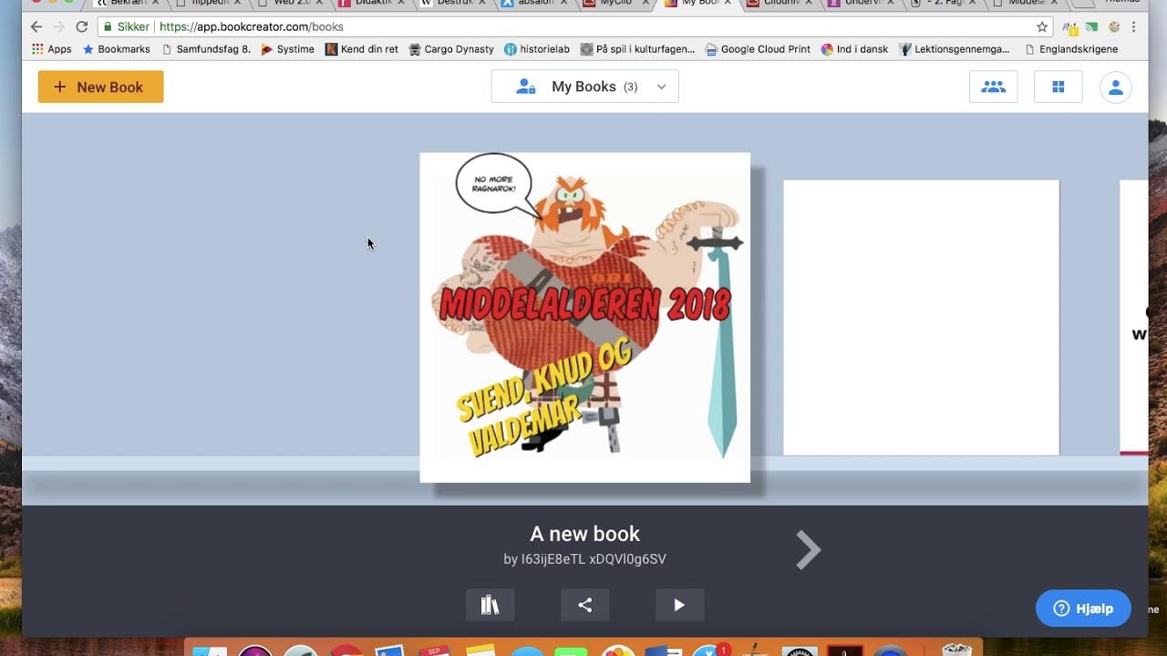 Hvordan man kan bruge Book Creator i historieundervisningen