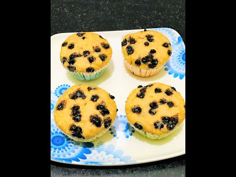 Oats Banana Muffins Recipe | Wheat Flour Chocolate Chip Muffins | Healthy Muffins | Kids Snack