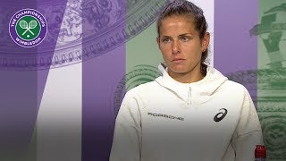 Julia Goerges has 'no words' to describe semi-final run | Wimbledon 2018