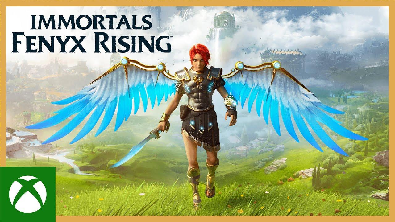Resultado de imagem para immortals fenyx rising xbox one trailer