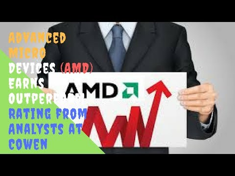 Advanced Micro Devices AMD Earns Outperform Rating from Analysts at Cowen